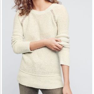 Bejeweled pullover from Anthropologie
